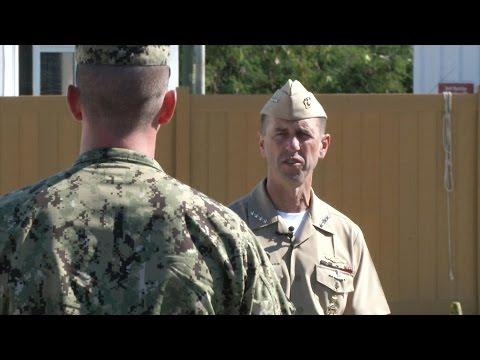 CNO Visits Naval Station Guantanamo Bay