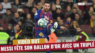 VIDEO: Liga : Messi fête son Ballon d'or avec trois bijoux !