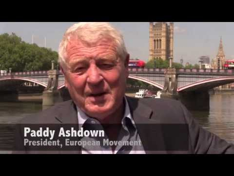 Paddy Ashdown: Join the European Movement