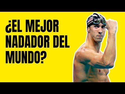 La Historia de Michael Phelps: El Mejor Nadador del Mundo 💪
