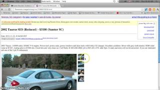 Craigslist Florence Sc Used Cars Sale Owner