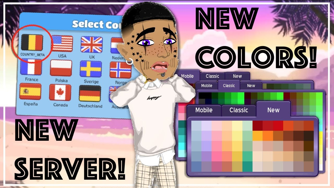 Making A Look with the NEW COLORS on MSP! | New Server and Colors | HUGE  MSP UPDATE! | BLORANGETIGER