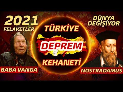 2021 TÜRKİYE DEPREM KEHANETİ (Dünya ve Türkiye 2021 Kehanetleri)