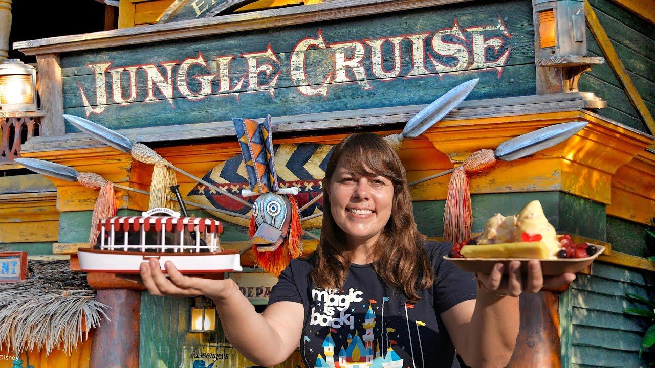 Disneyland's New Jungle Cruise & Tropical Hideaway Food Tour