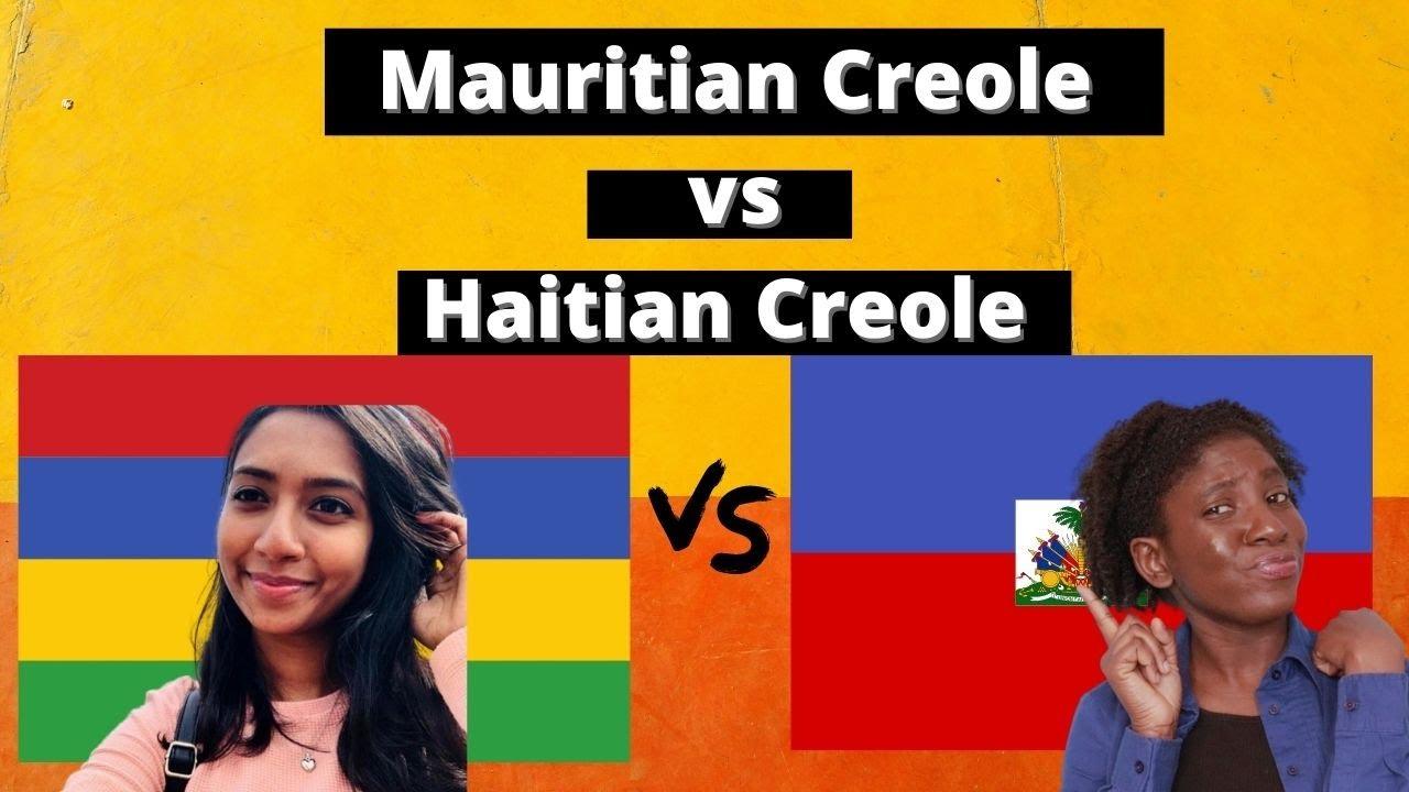 The Shocking Similarities between Mauritian Creole and Haitian Creole