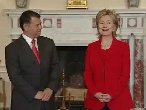 Secretary Clinton Meets With His Majesty King Abdullah II bin Al Hussein of Jordan