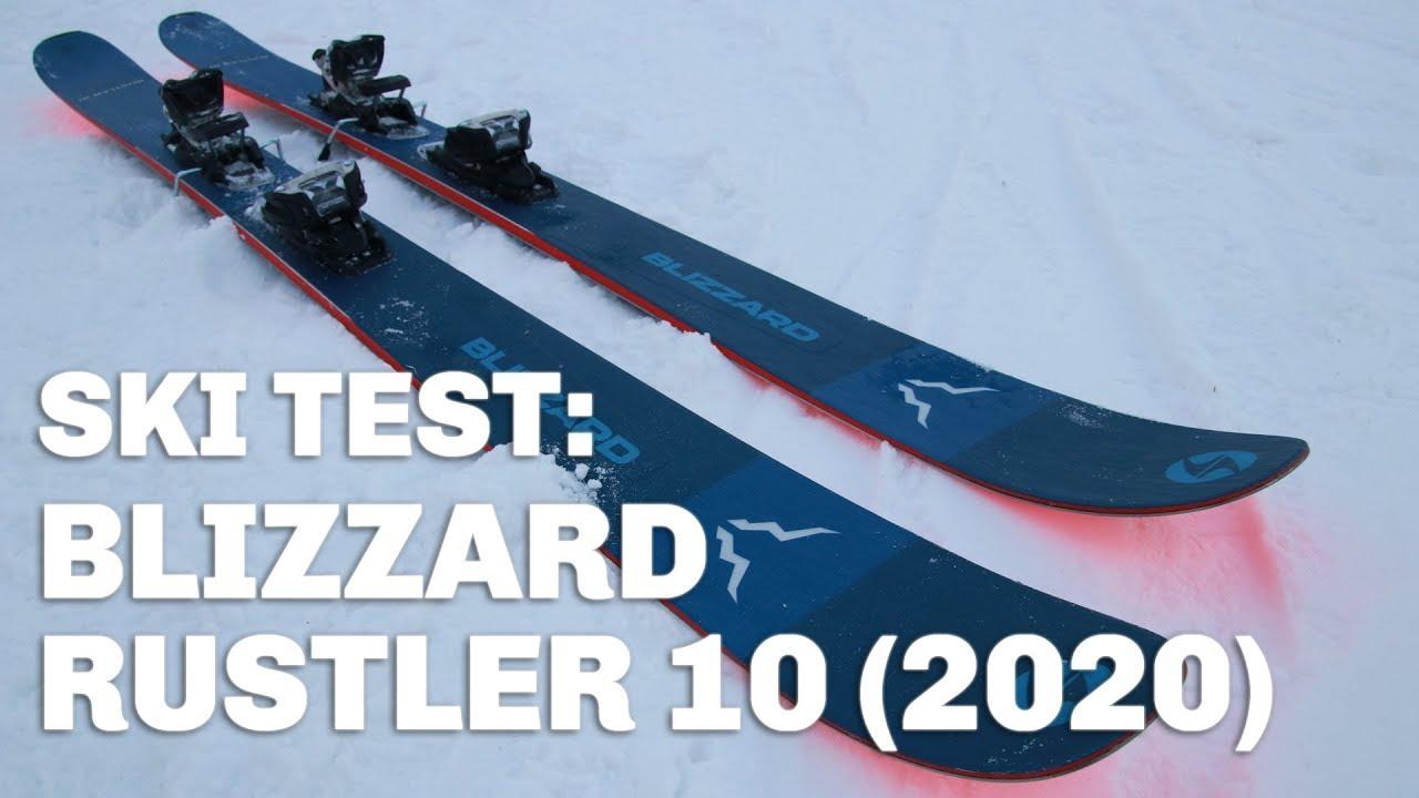 Skidtest  Blizzard Rustler 10 (2020) - YouTube dfb463c93b17