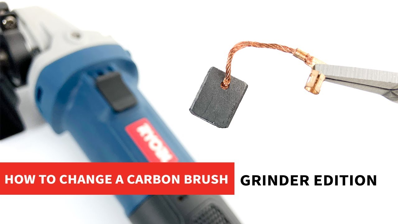 How to Replace a Ryobi Grinders' Carbon Brush