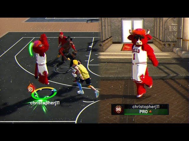 A SUBSCRIBER GAVE ME HIS 98 OVR ACCOUNT???? MASCOTS TURNS ME INTO DEMI-GOD???? - NBA 2K19