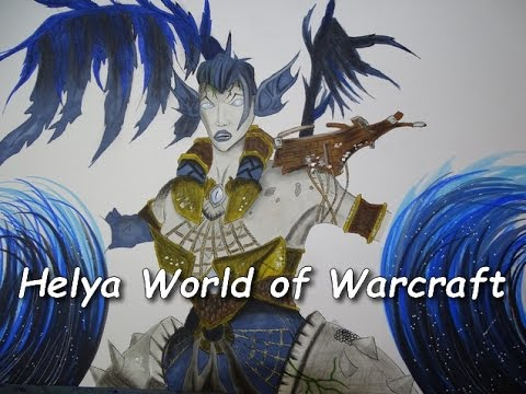 Drawing Helya World Of Warcraft