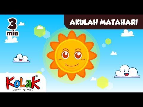 Lagu Anak Indonesia | Akulah Matahari | TK Dan PAUD