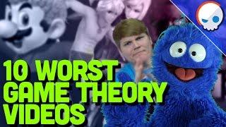 Top 10 Worst Game Theorization Videos | Arlo - Gnoggin