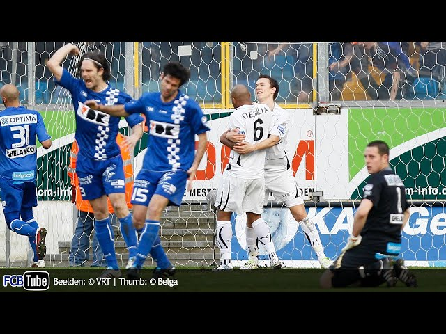 2010-2011 - Jupiler Pro League - PlayOff 1 - 01. AA Gent - Club Brugge 1-1