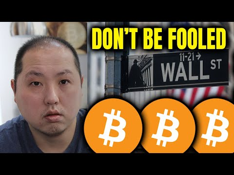 BITCOIN HOLDERS – DON'T FALL FOR WALL STREET'S GAMES!
