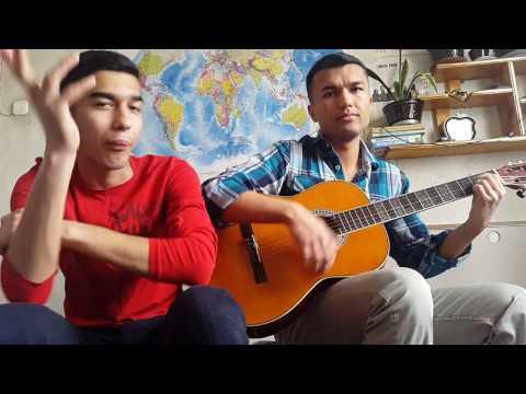 Bolalar - Hayolim senda (cover на гитаре)