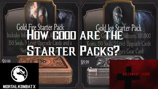 Mortal Kombat X iOS - Starter Pack Contents and Patch 1.1 Highlights