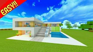Download Video Minecraft : Tutorial Cara Membuat Rumah Modern #13 MP3 3GP MP4