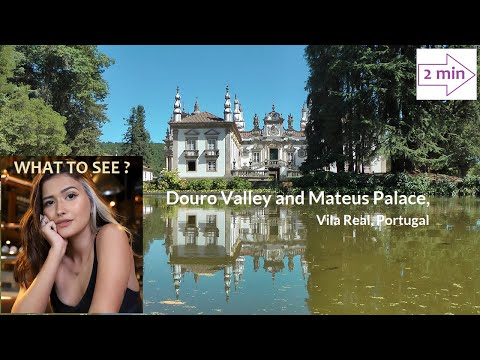 WHAT TO SEE in Douro Valley and Mateus Palace, Portugal (2 min in Europe Collection)