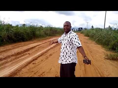 UNCOMPLETED NDDC PROJECTS IN OGONILAND ( DUBURO COMMUNITY ROAD)