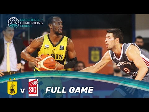 Aris v SIG Strasbourg - Full Game - Play-Off Qual: Leg 1 - Basketball Champions League