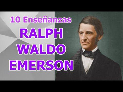 10 Enseñanzas de Ralph Waldo Emerson