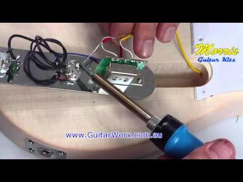 wiring a fender telecaster style guitar kit www guitarcentre store rh youtube com Dodge Wiring Harness Esquire Wiring Harness