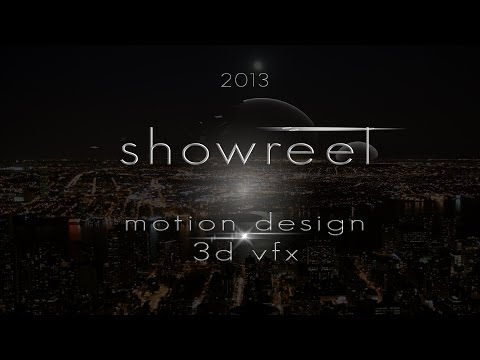 Showreel Motion Design 2013