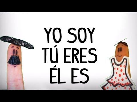Verbo ser en español, aprender cancion español