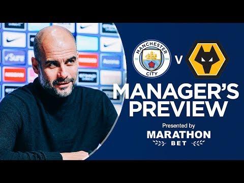 Pep Guardiola previews Man City v Wolves | PRESS CONFERENCE Mp3