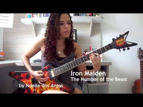 Iron Maiden - The Number of the Beast Guitar Cover (by Noelle dos Anjos) mp3
