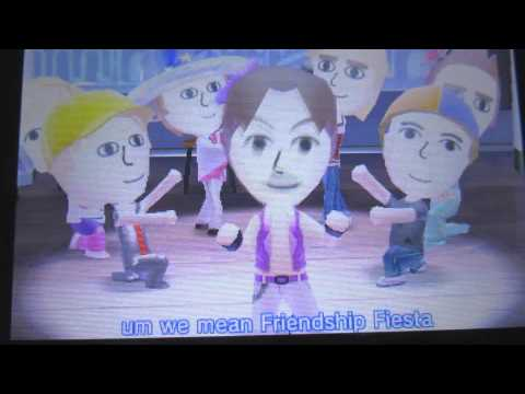 TomoDachi Life Funny Music Hall performance Montage (and a few bloopers)
