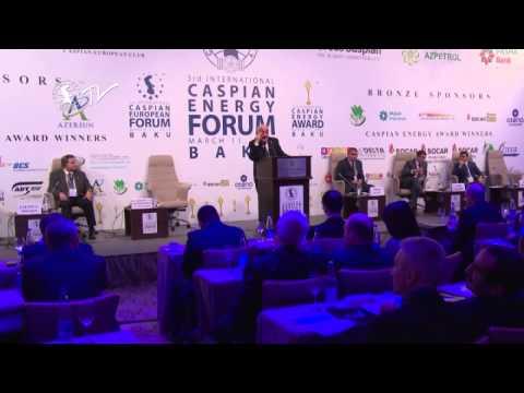 Akademik Xoşbəxt Yusifzadə - Caspian Energy Forum - Baku 2015-az
