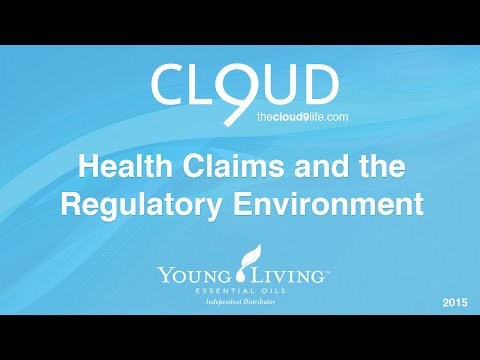 Young Living FDA Regulations - Health Claims & the Regulatory Environment