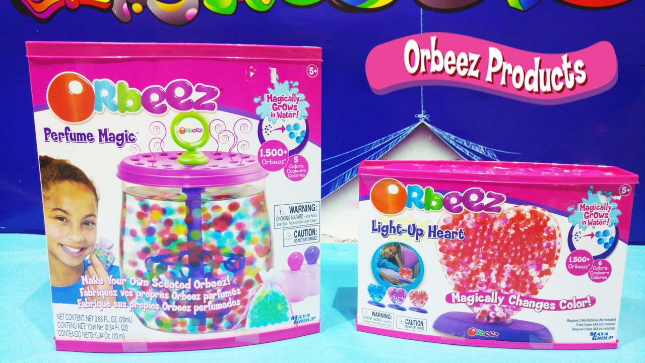 List of Synonyms and Antonyms of the Word: magic orbeez maker