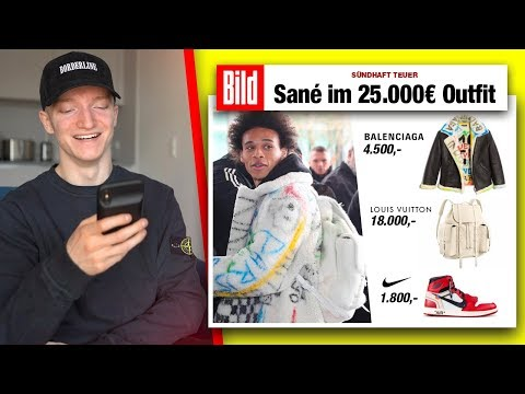 Das 25.000€ Outfit von Leroy Sané.. 💸