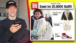 Das 25.000€ Outfit von Leroy Sané. 💸