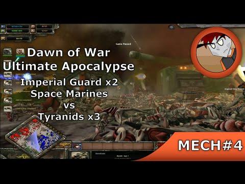DoW: Ultimate Apocalypse - IGx2, SM vs Tyranidsx3