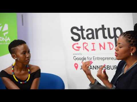 Startup Grind Johannesburg hosts Johanna Mukoki