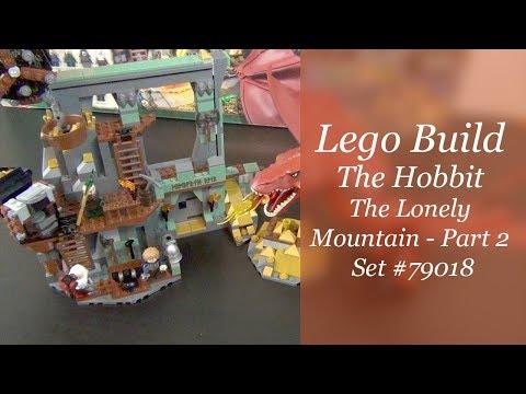 LEGO Hobbit Build - The Lonely Mountain Set #79018 - Part 2