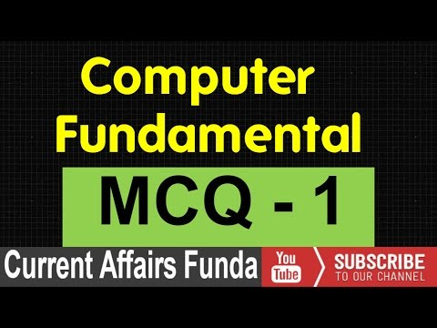 Computer Fundamental MCQ - 1 For Bank PO and LIC AAO , Other Govt Exams