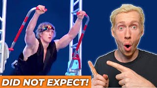 Pro Ninja Warrior Reacts to Logan Paul's Impressive Strength