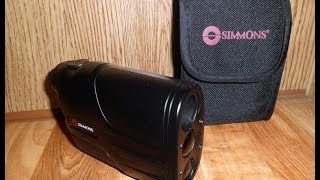 Simmons LRF 600 Laser Range Finder (HD)
