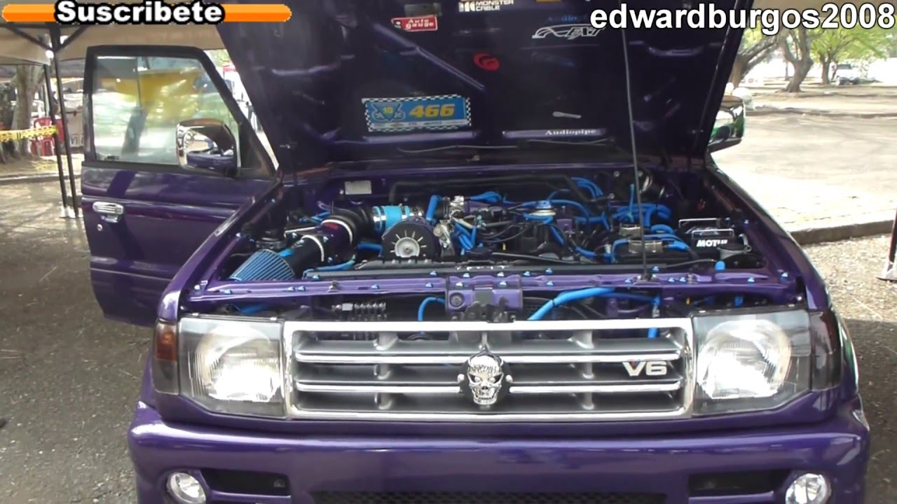 Camioneta mitsubishi montero v6 tuning modificado car audio laser shinp dl 2012 full hd