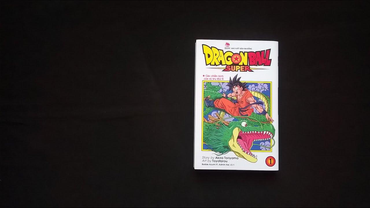 Review Manga #11: Dragon Ball Super ( Bảy Viên Ngọc Rồng Siêu Cấp)_ Vol.01