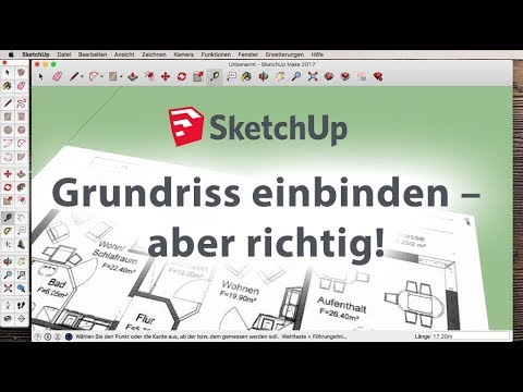 Sketchup: Grundriss richtig einbinden from YouTube · Duration:  3 minutes 10 seconds