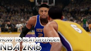 NBA 2K17: How To Get Past Your Defender Tutorial