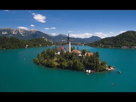Lake Bled - Slovenia - 2017 - Drone footage