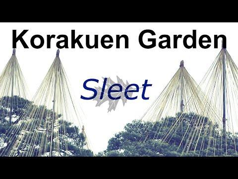 Korakuen Garden Sleet in okayama