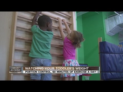 Nutrition and exercise tips to keep your toddler from becoming overweight or obese