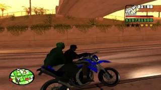 GTA:Sa Fuga de XT660 e Hornet